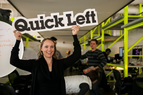 CEO Ingrid Alongi of Boulder's QuickLeft