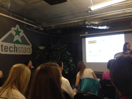 The Controversy of Diversity talk held at Techstars during Boulder Startup Week 2014.