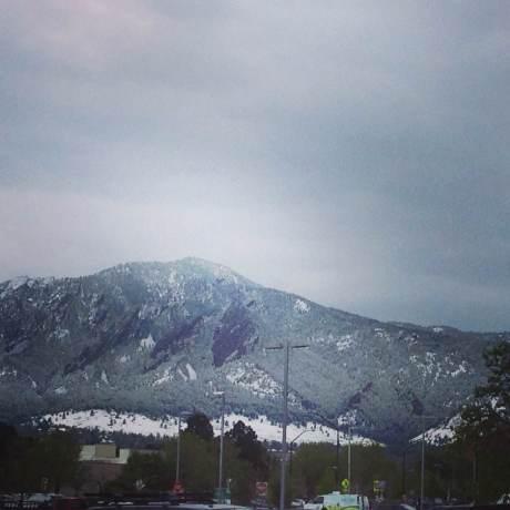 It was snowy when Boulder Startup Week 2014 began.