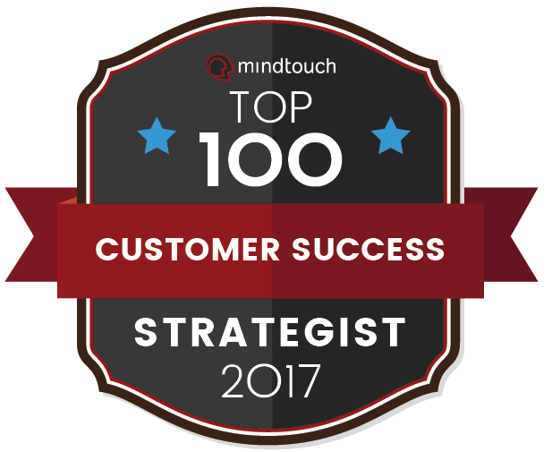 Sarah E. Brown Top 100 Customer Success Strategist 2017 by Mindtouch